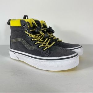 Vans Sk8-Hi MTE Toggle Yellow Grey Sneakers